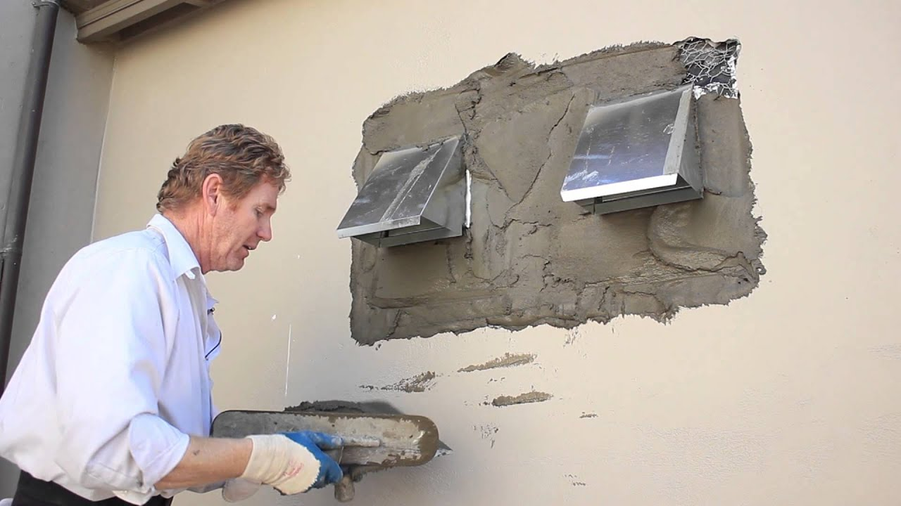 Plastering Stove Pipe Vents Hoods Or Ductwork On Exterior Walls Part 93