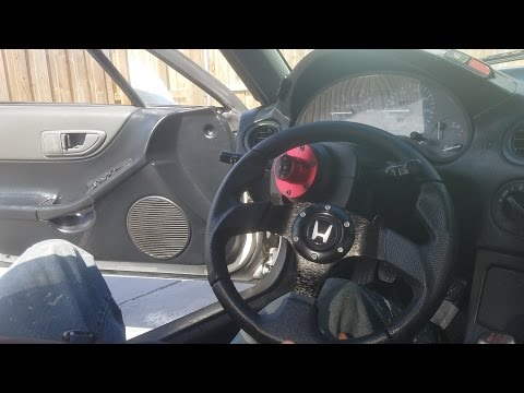 Honda Del Sol 1993-1997 Steering Wheel Upgrade (Quick Release)