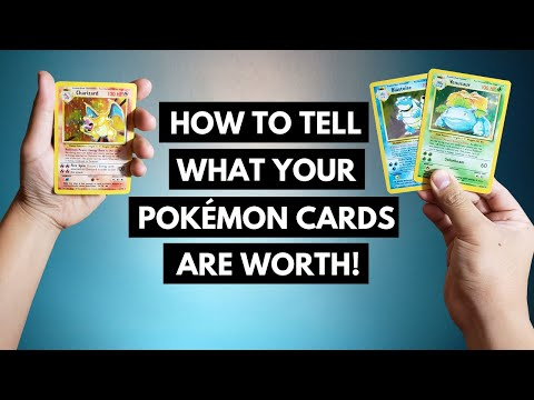 Pokemon Cards Value - How To Tell What Your Pokemon Cards Are Worth!