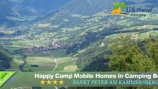 Happy Camp Mobile Homes in Camping Bella Austria - Sankt Peter am Kammersberg Hotels, Austria