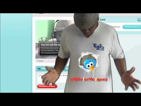 Broadcast Live On Twitter - Twitcam For Video Chat