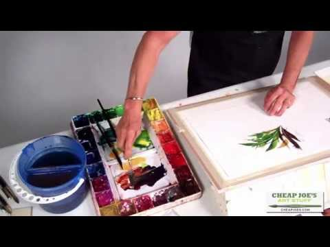 Watercolor Techniques with Betty Carr - Let Your Brush Do the Talking