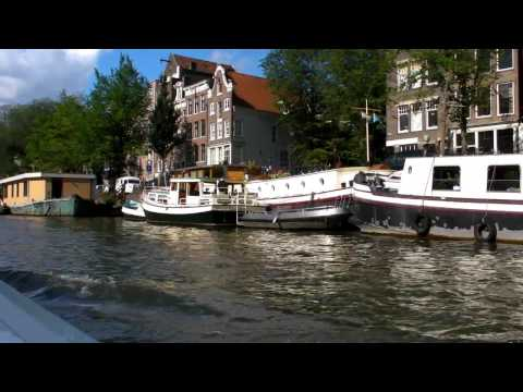 Amsterdam Canal Boat Trip Part1