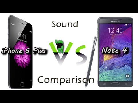 iphone 6 notes iphone 6 plus vs galaxy note 4 comparison 11371