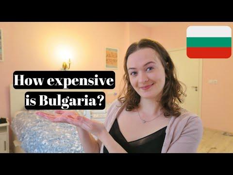 HOW EXPENSIVE IS SOFIA BULGARIA