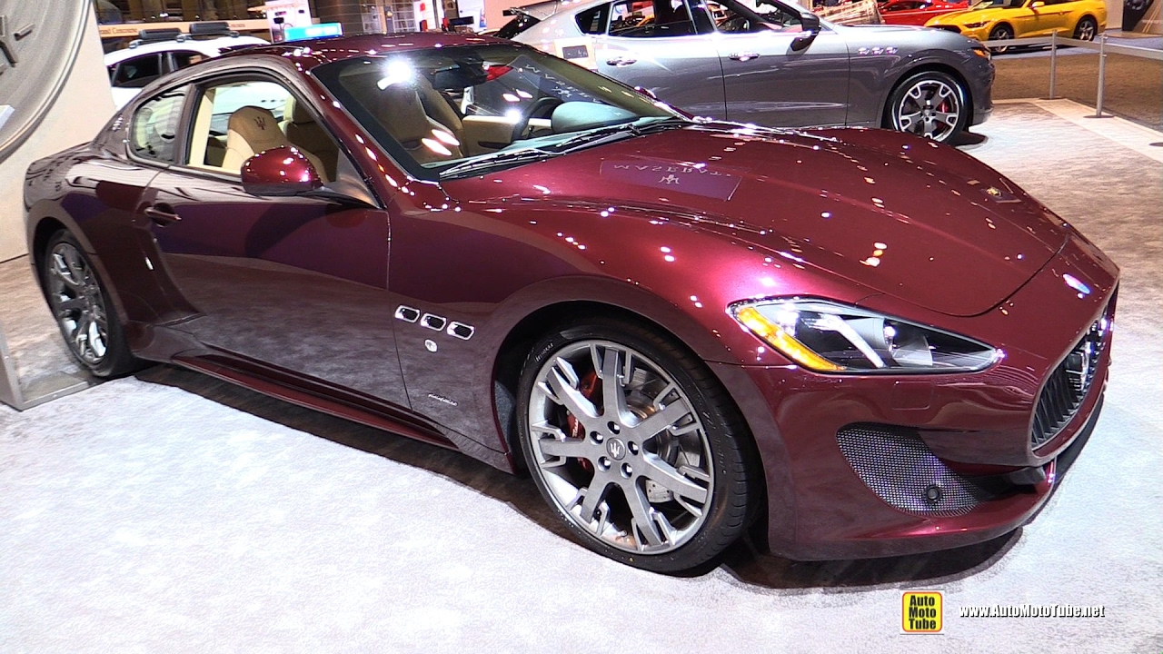 2017 maserati granturismo sport exterior and interior walkaround 2017 chicago auto show