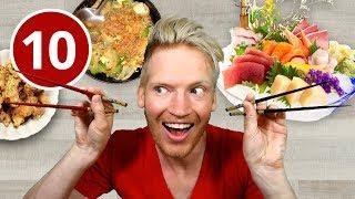 10 Weird Japanese Foods in Tokyo