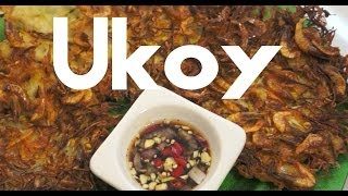 Paano magluto Ukoy Recipe - Pinoy Bean Sprouts & Shrimp Omelette Tagalog Fritters Okoy