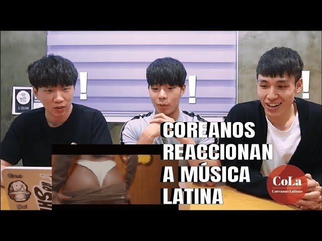 [Coreanas Latinas] Coreanos escuchan REGGAETON por primera vez y se quedan TRAUMADOS #1