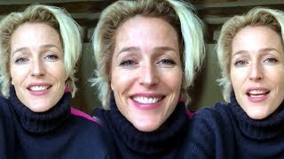 Gillian Anderson FUNNY MOMENTS - Compilation