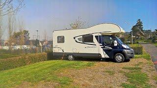 Approach to Camping municipal D'Arromanches