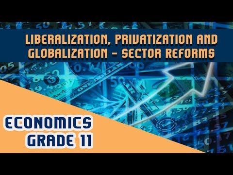 Economics Chapter 3 | Part 2 | Liberalization, Privatization and Globalization - Sector Reforms