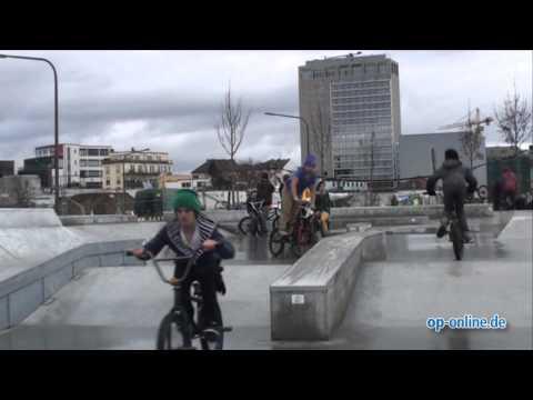 Concrete Jungle: Skatepark in Frankfurt