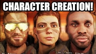 Tom Clancy's The Division: CHARACTER CREATION and CUSTOMIZATION GAMEPLAY