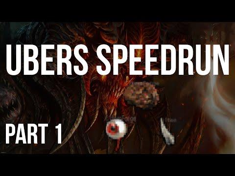 [Part 1] DIABLO 2 - UBERS SPEEDRUN UNTWINKED (Lvl 1 To Ubers)