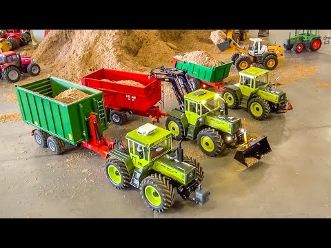 RC Tractor ACTION! R/C MB Trac Tractors at work!