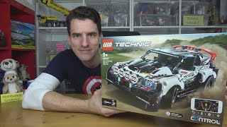 Top-Gear-Lizenz? Eine Vollkatastrophe! LEGO® Technic 42109 Fantasy-Ralleyauto