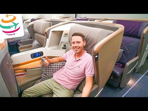 Singapore Airlines A350 Business Class | GlobalTraveler.TV