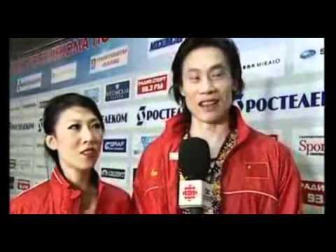 Pang Qing & Tong Jian Speaking English