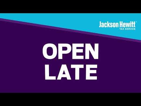 Jackson Hewitt Promo