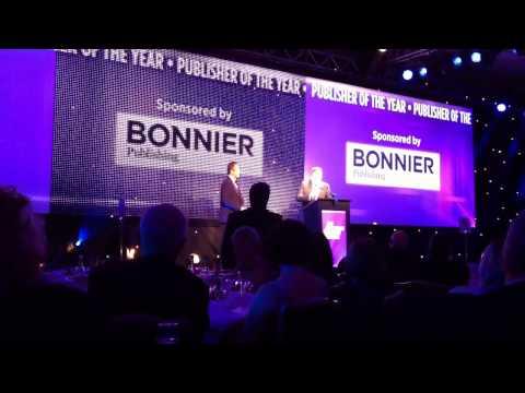 "Bonnier Publishing sponsors ""Publisher of the Year"" award"