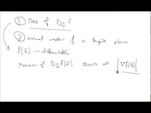 Stewart's Calculus Chapter 14 - Directional Derivatives and the Gradient Vector