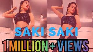 Gambar cover O SAKI SAKI | Batla House | Nora Fatehi | Neha Kakkar | Tulsi Kumar | Dance Cover By HerBestMoves