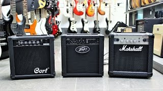 10 Watt Guitar Amp Comparison