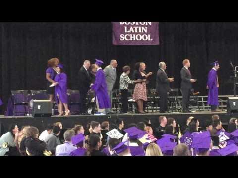 Sam Squires graduation from Boston Latin School!
