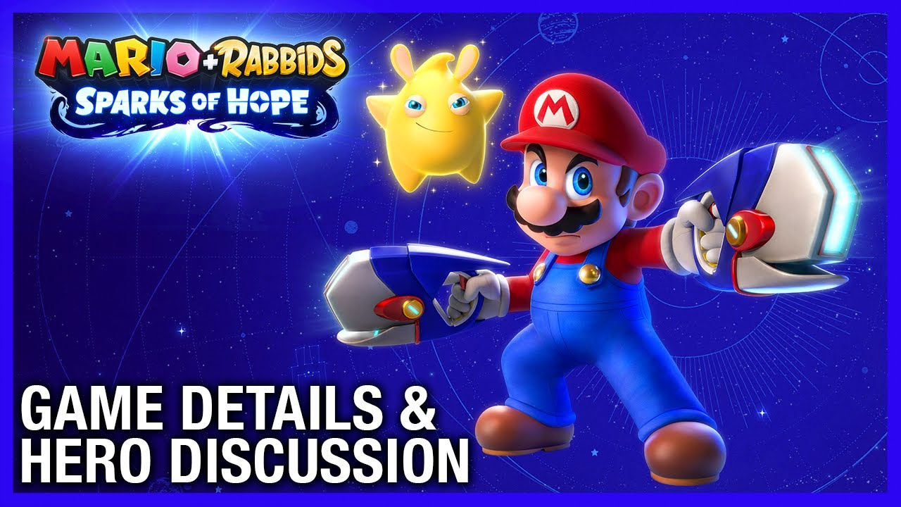 Mario + Rabbids Sparks of Hope: Devs Discuss New Gameplay, Heroes, and Villain | Ubisoft