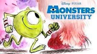 Story School  | Monsters U | Disney Pixar