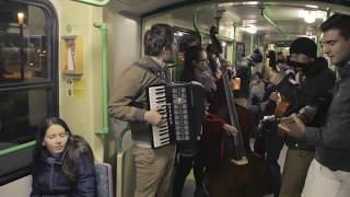 Budapest Ritmo - koncert a villamoson