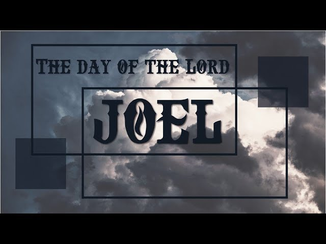 08/04/2019 Joel 2:21 - 32,