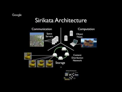 Large-Scale Distributed Virtual World Systems