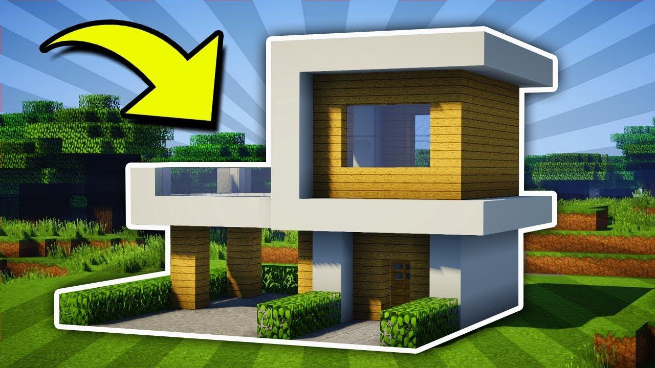 Minecraft Small Modern House Tutorial 11 Pc Xboxone Ps4 Pe