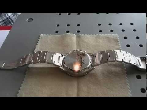 Лазерная гравировка на часах!