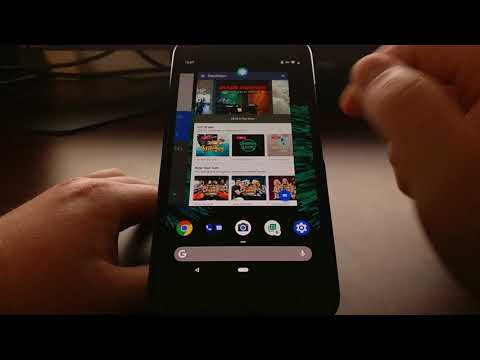 Android P | Switching Between 2 Apps with the New Navigation Gestures