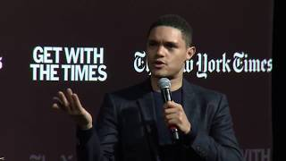 Trevor Noah Speaks With The Times About Race and Identity