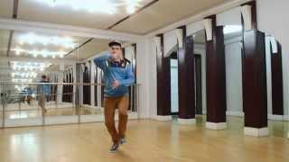 Dubstep Dance Tutorial. Урок 1.2. Танцевальная связка в стиле дабстеп.(Музыка в этом видео: Calvertron - 8 Bit Dreamz (Calvertron VIP Remix) ------- Видеоуроки по дабстепу