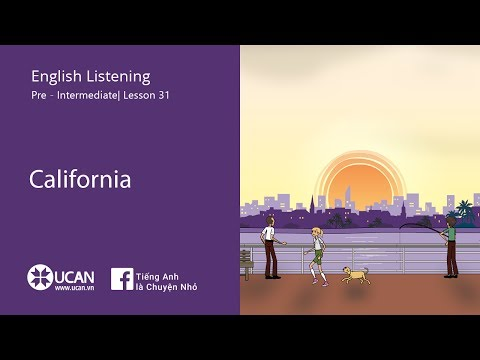Learn English Via listening | Pre-Intermediate - Lesson 31. California