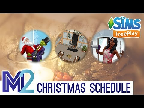 Sims FreePlay Holiday Update Schedule (Early Access Preview)