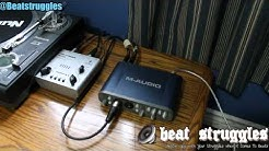 Audio Interface M-Audio Fast Track Pro Set Up