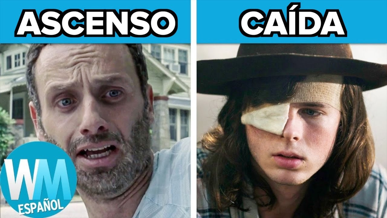 ¡Top 10 ASCENSOS y CAIDAS de The Walking Dead!