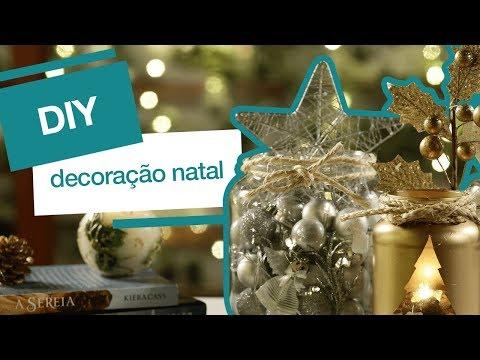 DIY NATAL: 3 ideias incríveis e fáceis de decoração natalina