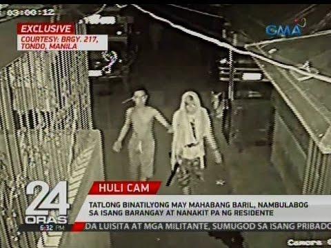 Tatlong binatilyong may mahabang baril, nambulabog sa isang barangay at nanakit pa ng residente