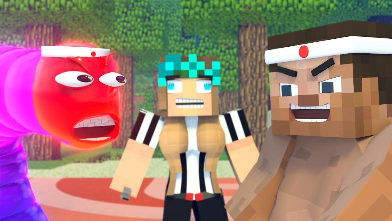 The minecraft life of Steve and Alex | Slither vs Steve | Minecraft animation