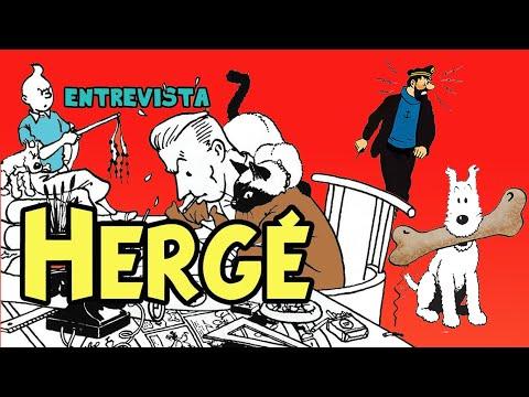 Entrevista a Hergé (creador de Tintín)