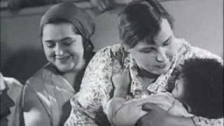 Russian Lullaby from The Movie Circus (Tsirk,Цирк) USSR 1936 (with Subtitles)