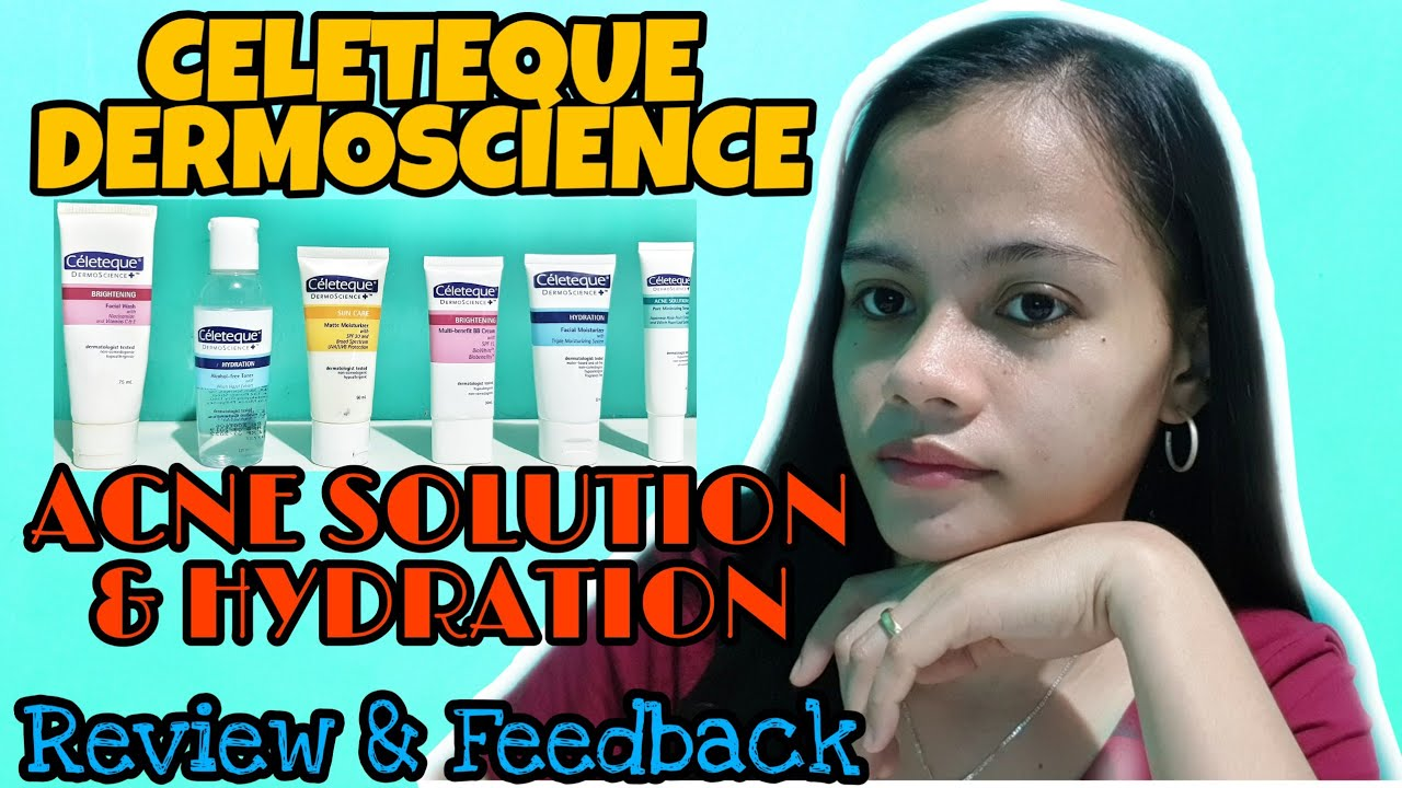 Celeteque Dermoscience Acne Solutions And Hydration Review