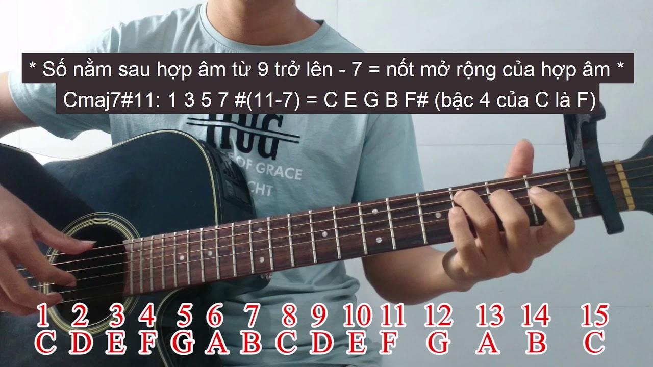 Guitar nâng cao học gì? Hướng đi của guitar đệm hát